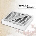 Лезвия для бритвы SWAY артикул 119 960A фото, цена