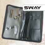 Чехол SWAY для 2 ножниц + аксессуаров с карманом  на молнии артикул 110 999001 фото, цена sw_15065-02