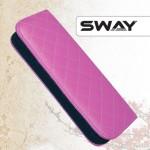 Чехол SWAY ЛИЛОВЫЙ для 1 ножниц + карман жесткий иск. кожа на молнии (шт.) артикул 110 999004 фото, цена