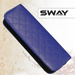 Чехол SWAY СИНИЙ для 1 ножниц + карман жесткий иск. кожа на молн артикул 110 999005 фото, цена