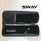 Чехол SWAY СИНИЙ для 1 ножниц + карман жесткий иск. кожа на молнии (шт.) артикул 110 999005 фото, цена sw_15067-02