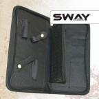 Чехол SWAY STYLIST для 2 ножниц + аксессуаров с карманом й на молнии артикул 110 999006 фото, цена sw_15068-02