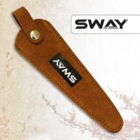 NEW 2015! Чехол SWAY для 1 ножниц замшевый рыжий (шт.) артикул 110 999007 фото, цена sw_16519-01