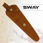 NEW 2015! Чехол SWAY для 1 ножниц замшевый рыжий (шт.) артикул 110 999007 фото, цена sw_16519-02